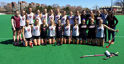 Friends of Harvard Field Hockey 2015 Spring Alumnae Game