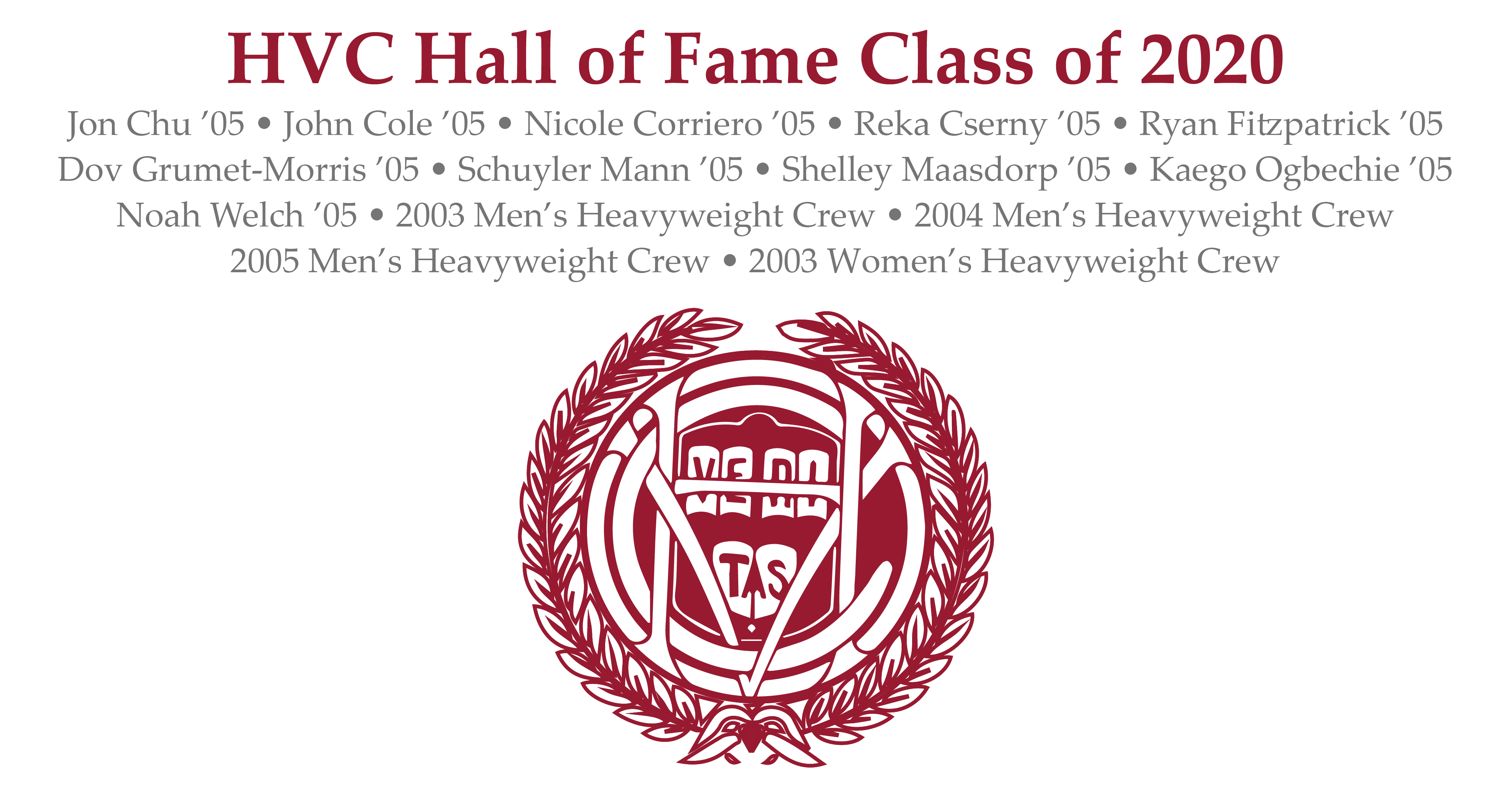 Harvard Varsity Club Announces Hall of Fame Class of 2020